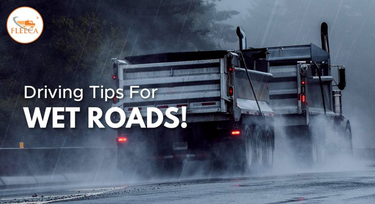 Driving tips for wet roads!