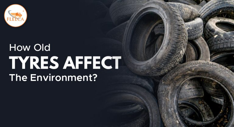 How old tyres affect the environment?